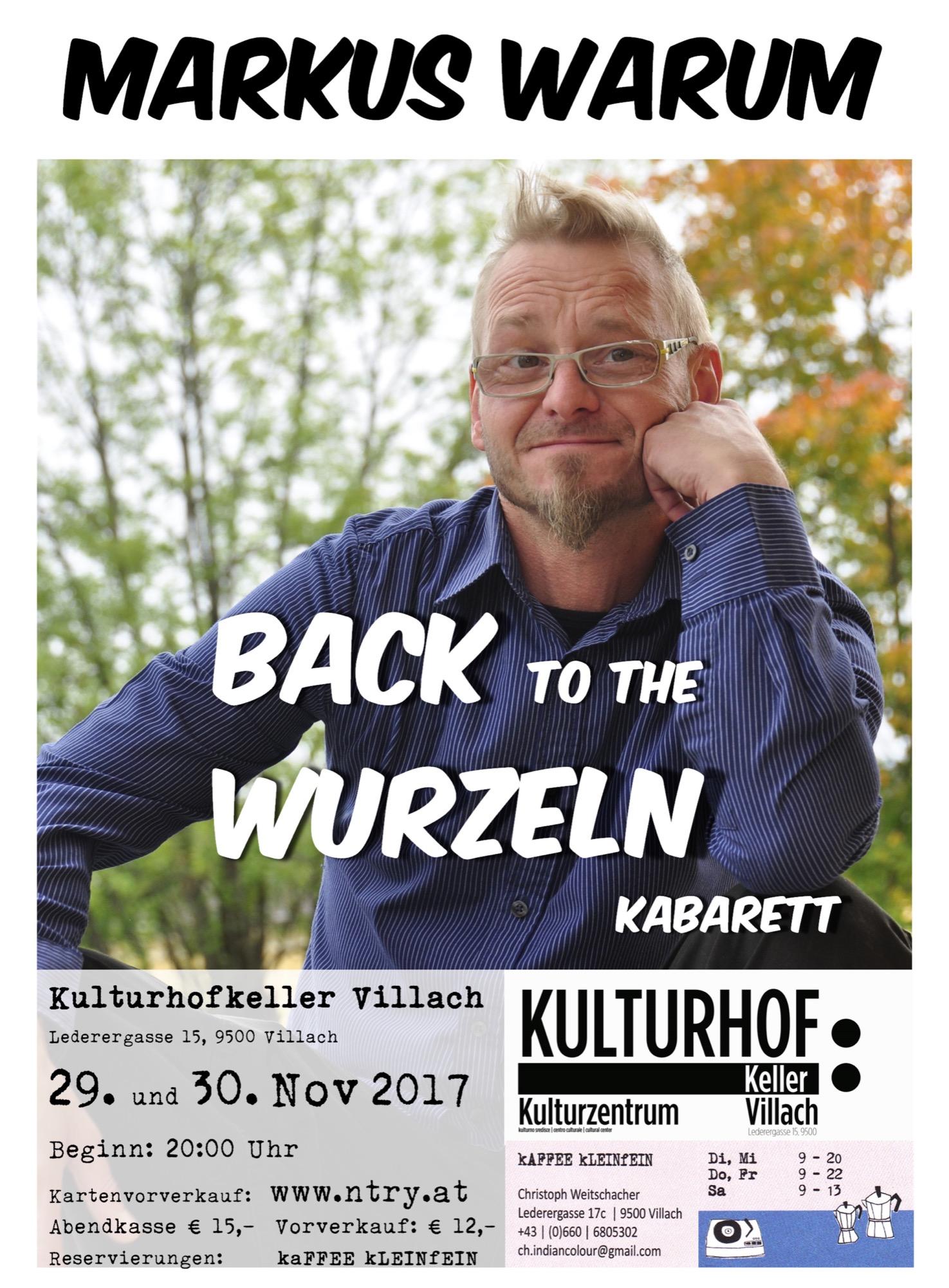 Back to the Wurzeln Termine neu