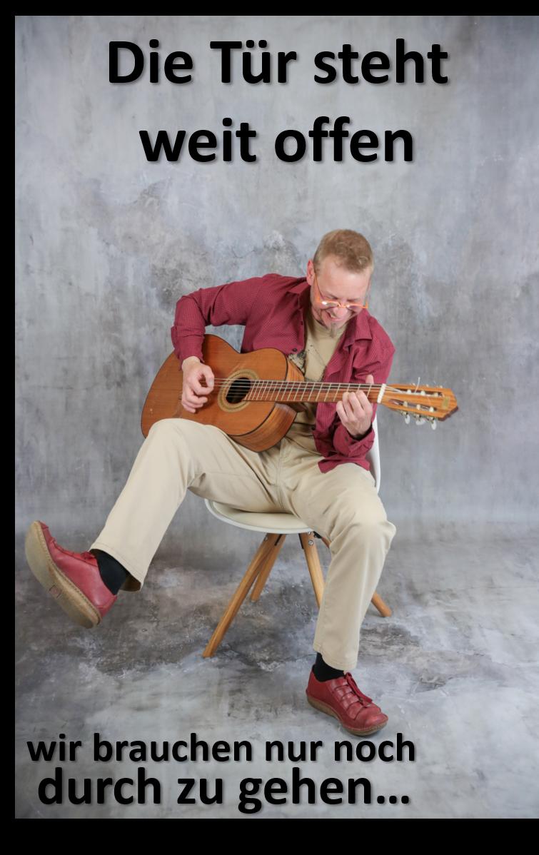 Musik und Kabarett mit Markus Warum