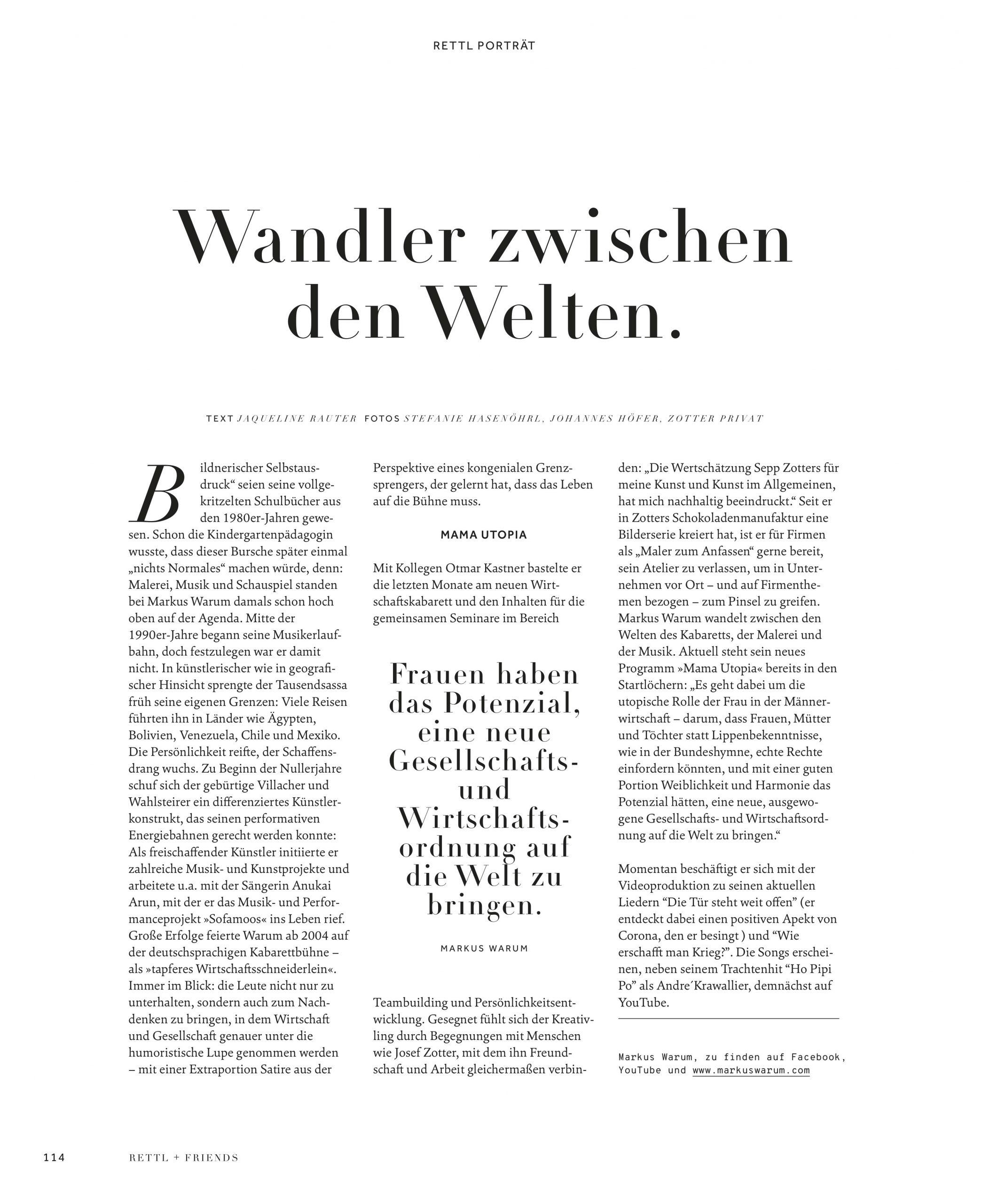 Rettl Magazin